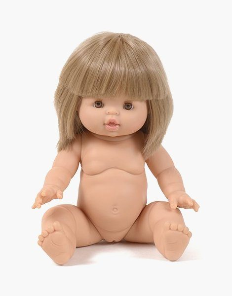 Zoé, poupée exclusive Minikane blond aux yeux marrons