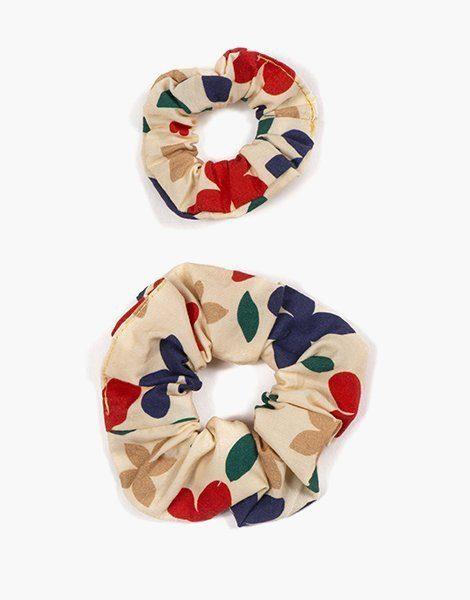 Collection Duo – Chouchou en coton Mona
