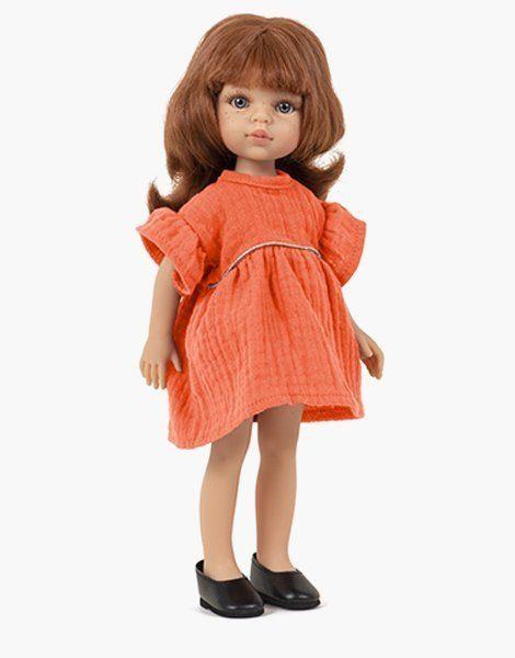 Christi et sa robe Daisy Papaye