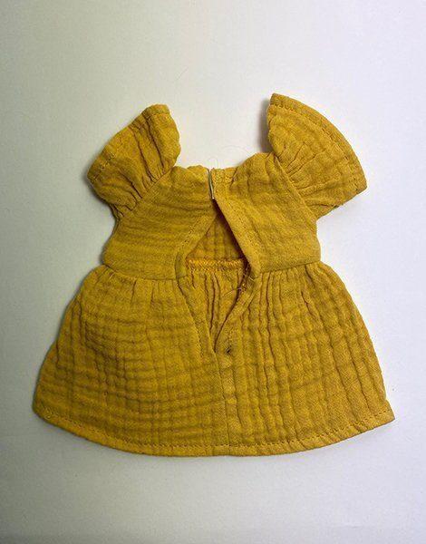*Robe Amigas Daisy en double gaze Moutarde (défaut : tâche)