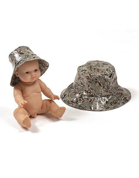Collection Duo – Chapeau de pluie en coton enduit Roxy