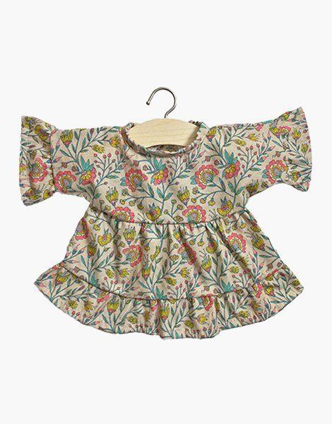 """Robe """"LUCIA"""" en coton Fleurs en liane"""