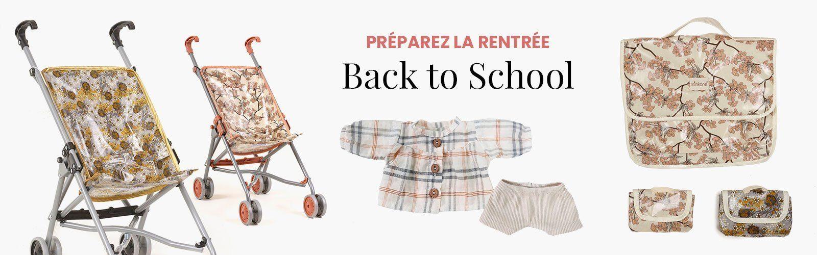 back to school - notre sélection pour la rentrée des classes avec Minikane