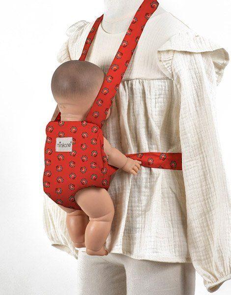 Porte poupée coton Dahlia
