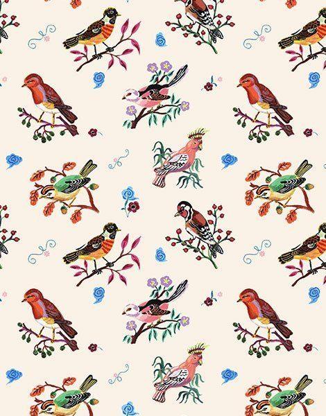 """Collection Duo – Tshirt en coton """"Little Birds"""""""
